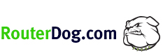 Router Dog Logo